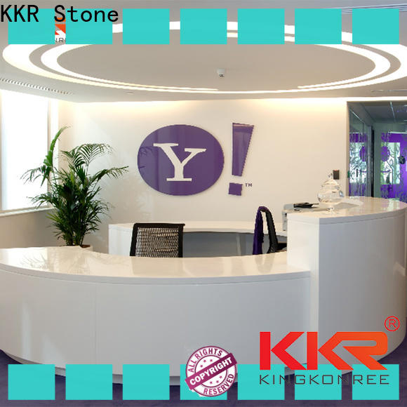 KKR Stone stone reception desk countertop for table tops