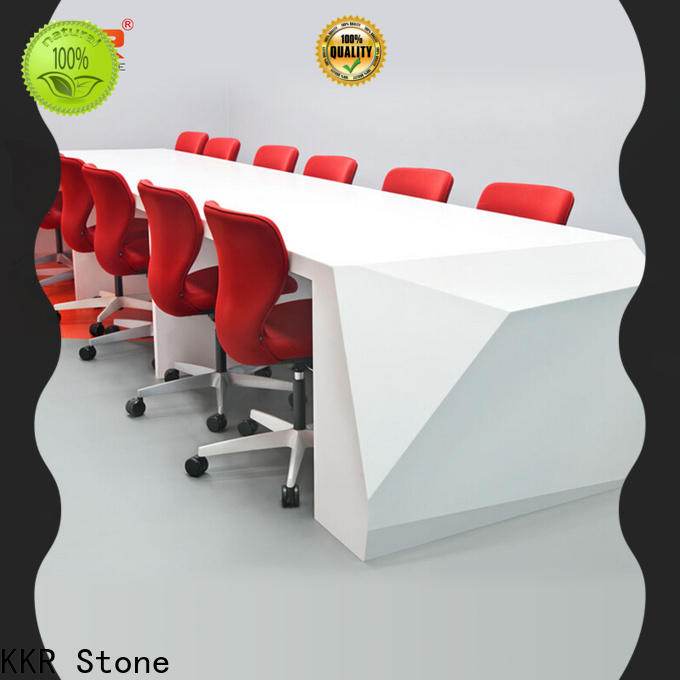 KKR Stone pure acrylic office furniture free design for early education