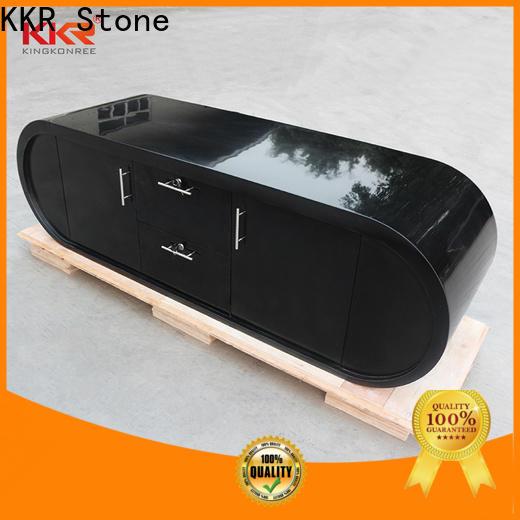 KKR Stone countertop reception desk countertop vendor for bar table
