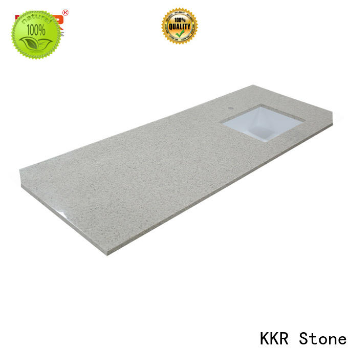 custom-made solid surface countertop single in-green for worktops