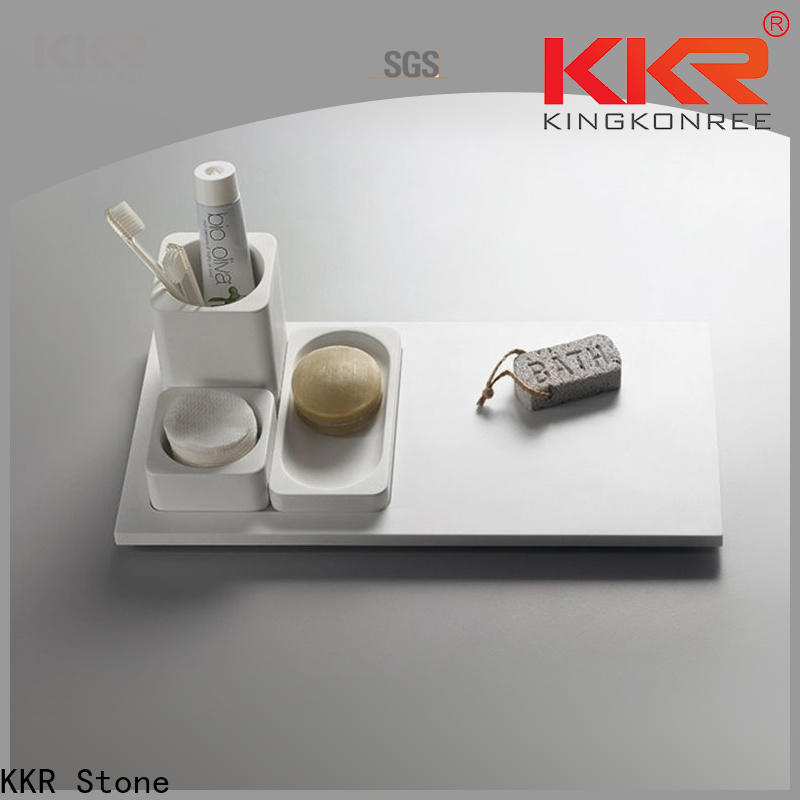 KKR Stone double Sink bathroom stool for hotel