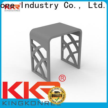 KKR Stone plexiglass shelves wholesale for living room