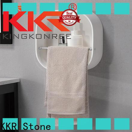 KKR Stone acrylic bathroom shelf supply for bathroom