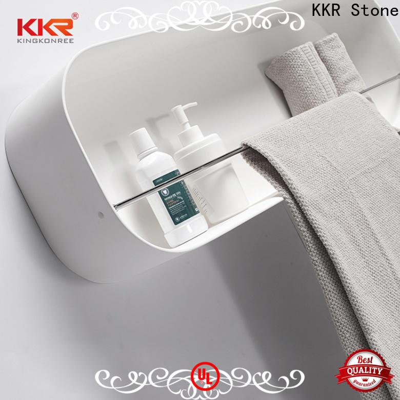 artificial bathroom shelves supply for bathroom