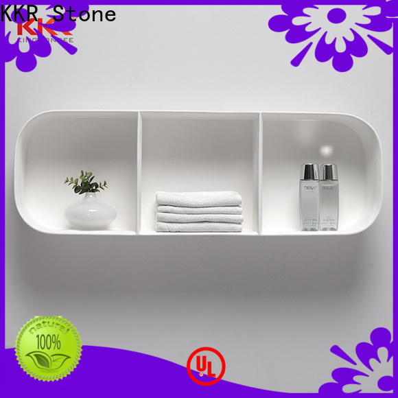 KKR Stone bathroom shelves in different shape for living room