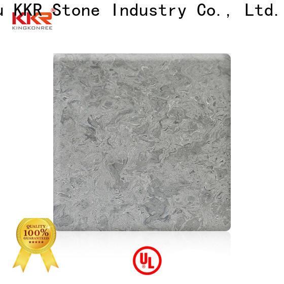 KKR Stone soild veining pattern solid surface manufacturer furniture set