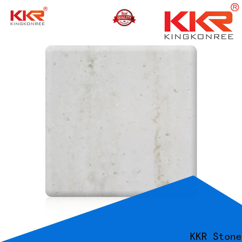 KKR Stone easily repairable solid surface certifications for early education