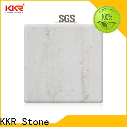KKR Stone black marble solid surface for early education