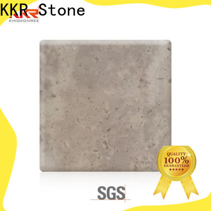 KKR Stone width corian solid surface sheet supply for building