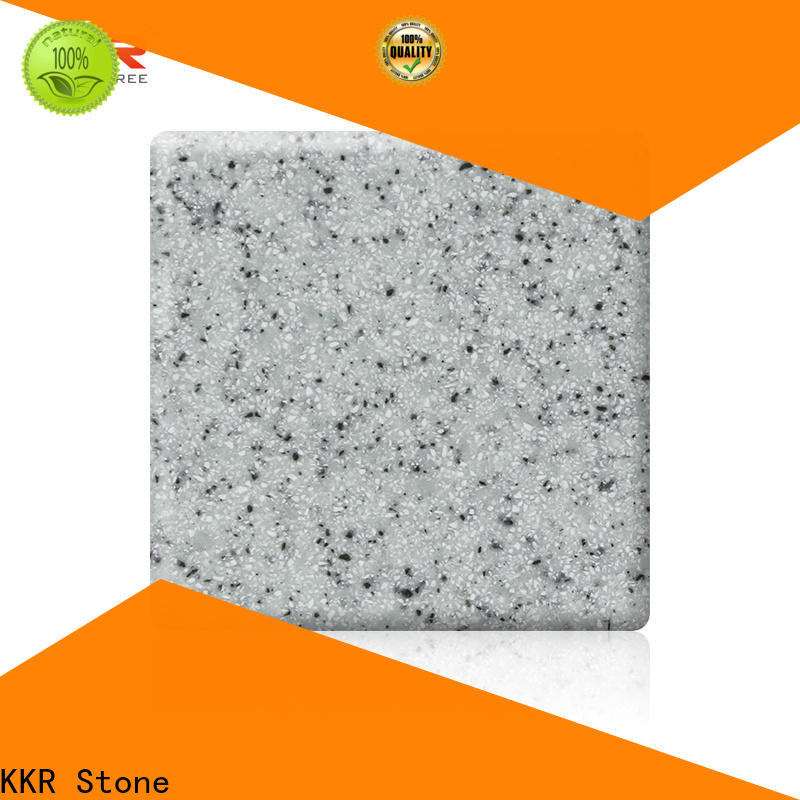 KKR Stone thickness modified solid surface superior chemical resistance for table tops