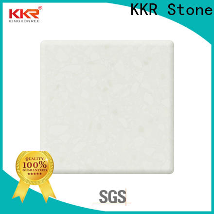 KKR Stone newly modified acrylic solid surface superior stain for kitchen tops
