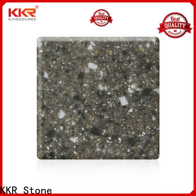 KKR Stone modified solid surface acrylics superior stain for building