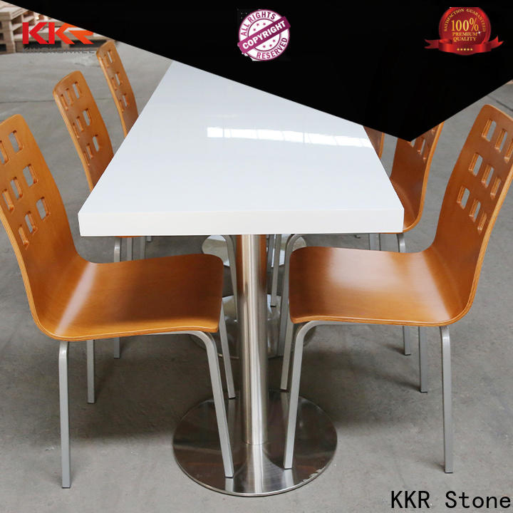 artificial stone dining table surface