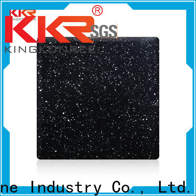 KKR Stone marble solid surface factory superior chemical resistance for self-taught