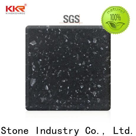 KKR Stone acrylic solid surface factory superior stain for kitchen tops