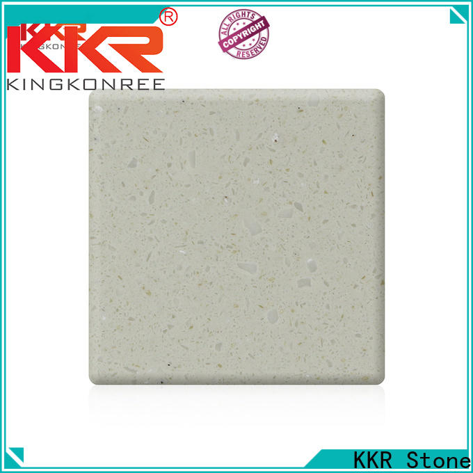 KKR Stone artificial solid surface acrylics superior chemical resistance for table tops