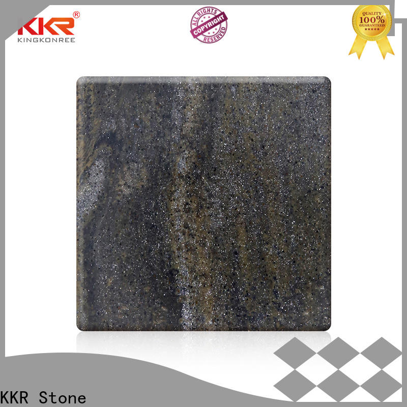 high-quality veining pattern solid surface artificial furniture set