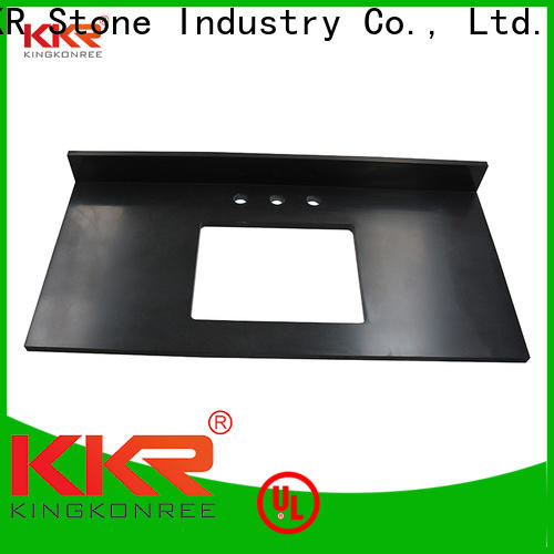 KKR Stone small solid surface countertops supplier for school building