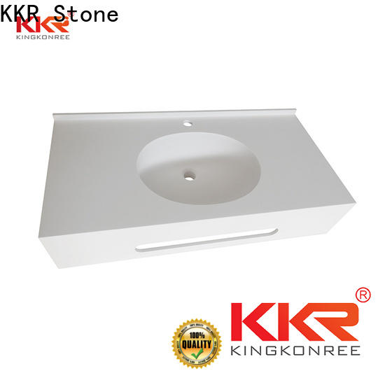 good Quality acrylic solid surface countertops clor supplier for table tops