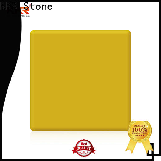 KKR Stone colorful modified solid surface superior stain furniture set