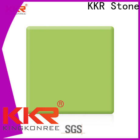 colorful solid surface factory kkrm1645 superior bacteria for worktops