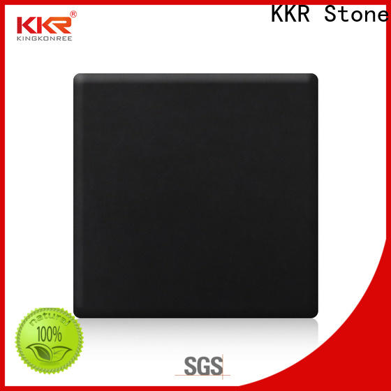 KKR Stone modified acrylic solid surface superior chemical resistance for self-taught