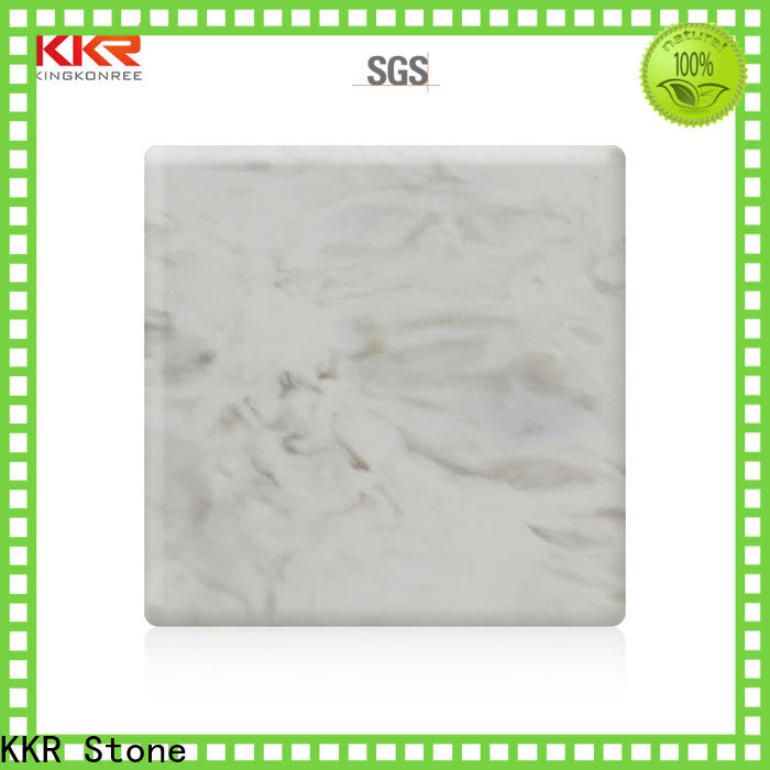 KKR Stone sheet corian solid surface sheet supply for early education