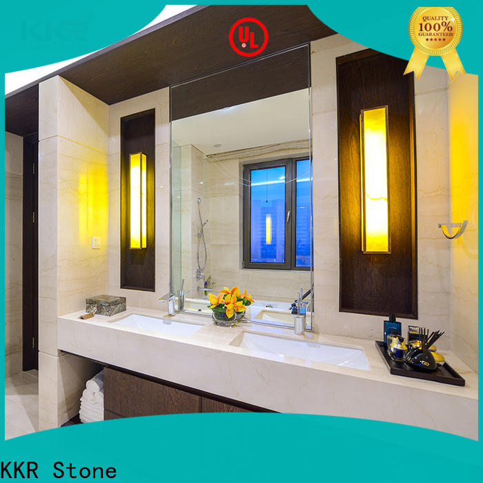 KKR Stone custom-made solid surface countertop  supply for table tops