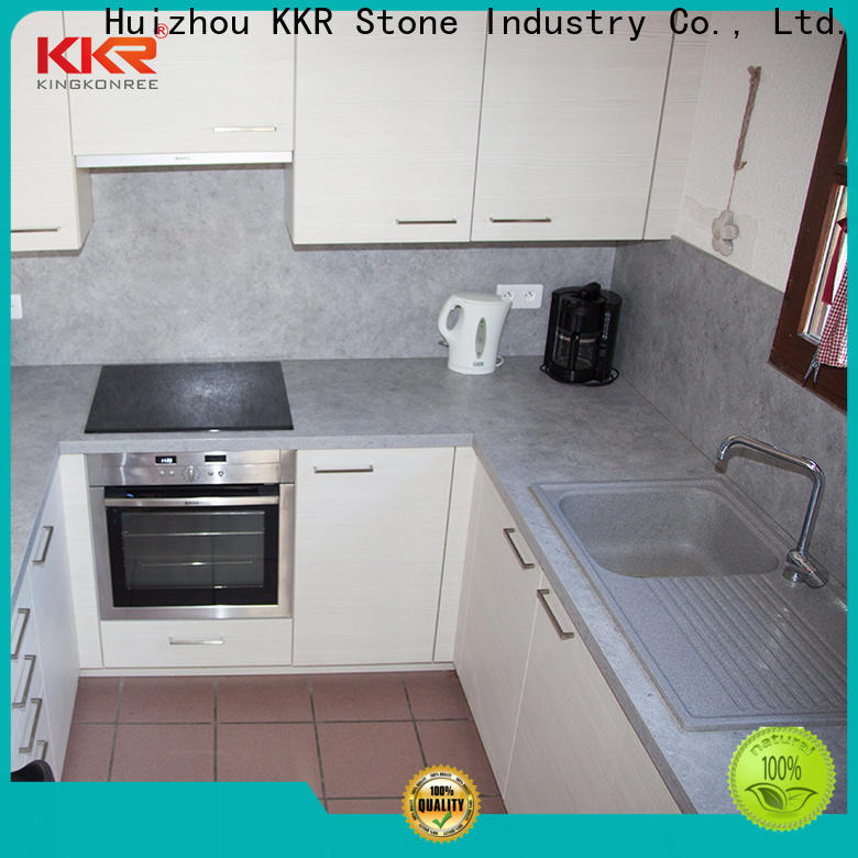 KKR Stone countertop solid kitchen countertops producer for bar table