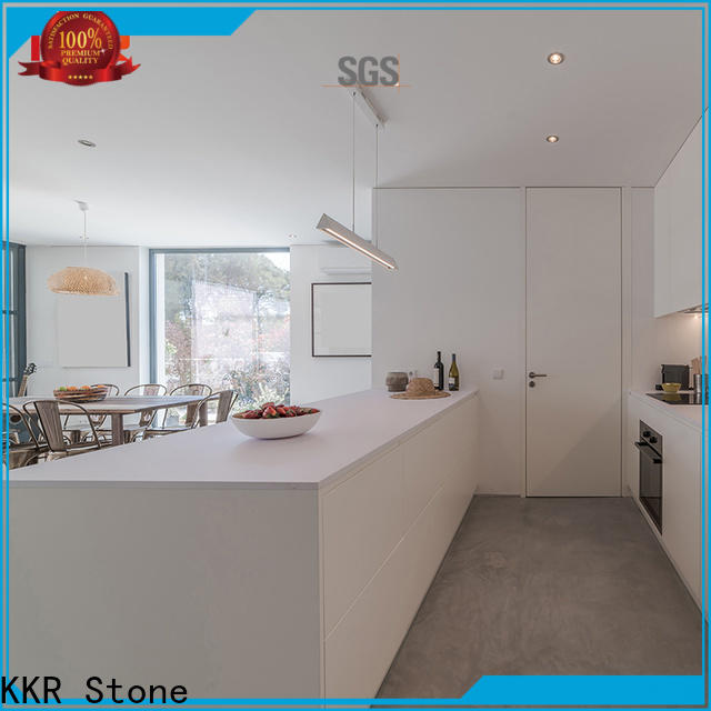 solid kitchen countertops shape in different color for early education