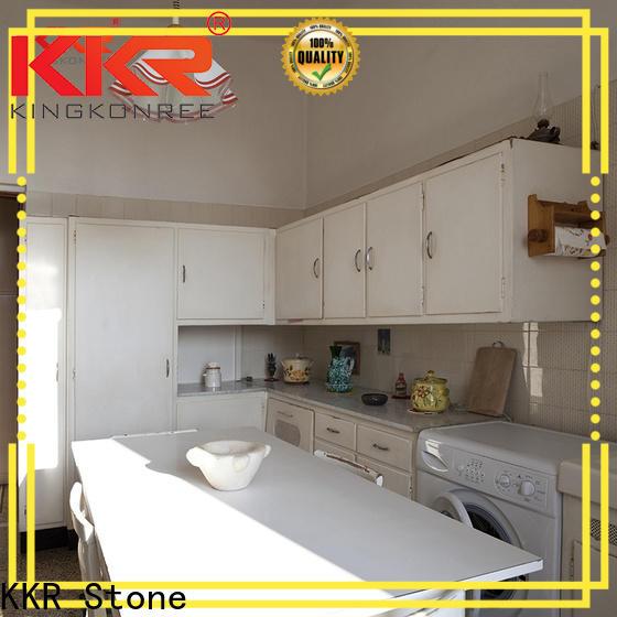 KKR Stone artificial kitchen quartz countertops producer for shoolbuilding