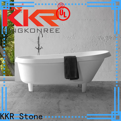 KKR Stone bathtub paint producer for school building
