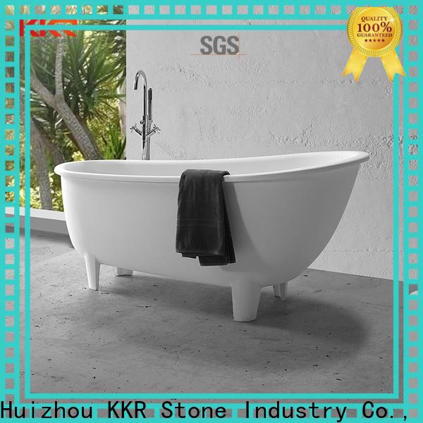 KKR Stone acrylic bathtub surround directly sale for home