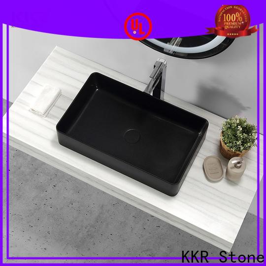 KKR Stone solid surface basin custom-design for kitchen tops