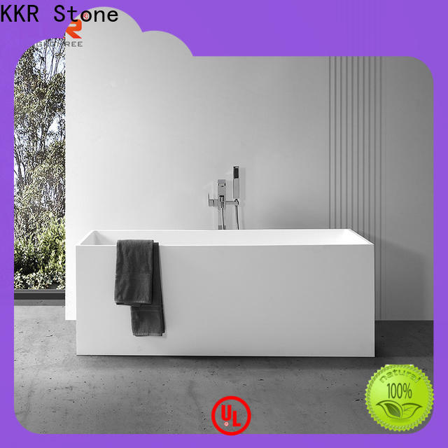 KKR Stone modified bathroom countertops factory price for early education