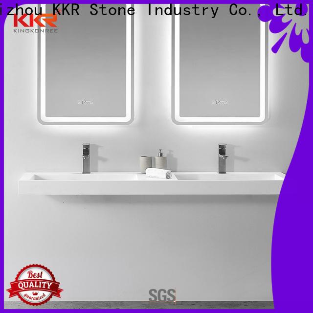 KKR Stone high tenacity undermount kitchen sink custom-design for kitchen tops