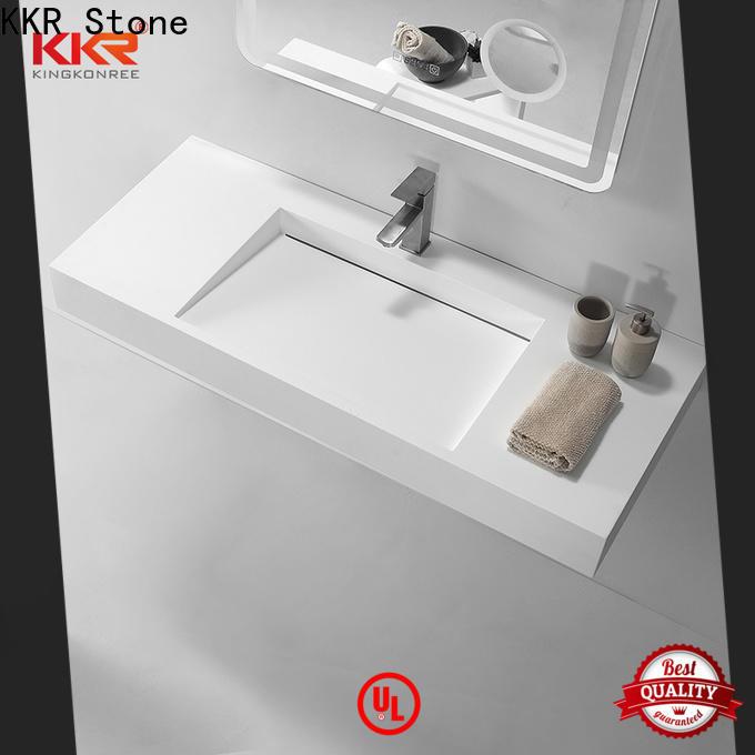 KKR Stone acrylic corner bath producer for school building