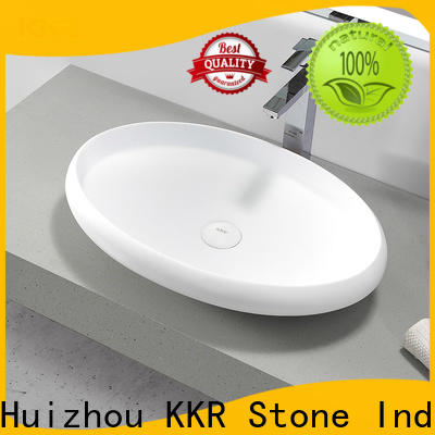 KKR Stone lassic style bathroom vanity with sink in good performance for school building