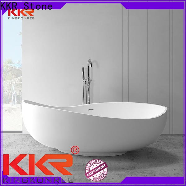 new arrival solid surface tub from China for bathroom