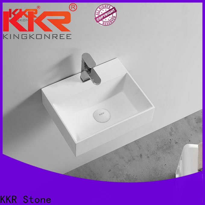KKR Stone lassic style corian kitchen worktops in special shapes for worktops