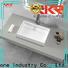 KKR Stone countertop basin custom-design for school building