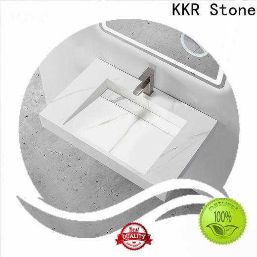 KKR Stone easy to clean undermount kitchen sink vendor for table tops