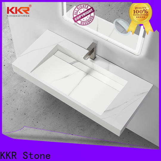 high tenacity corian basin in special shapes for table tops