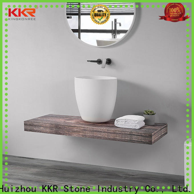 lassic style corian sink bulk production for school building