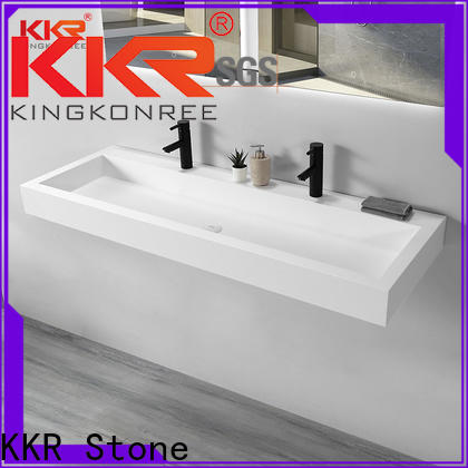 KKR Stone high tenacity bathroom vanity with sink supply for table tops