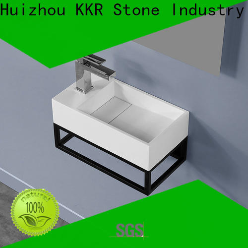 KKR Stone high tenacity bathroom accessories in special shapes for school building
