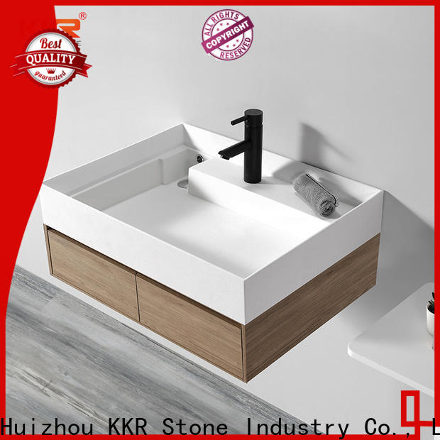 KKR Stone small bathroom sink in special shapes for school building