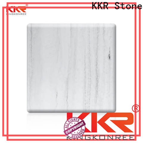KKR Stone toxic free marble solid surface effectively for home