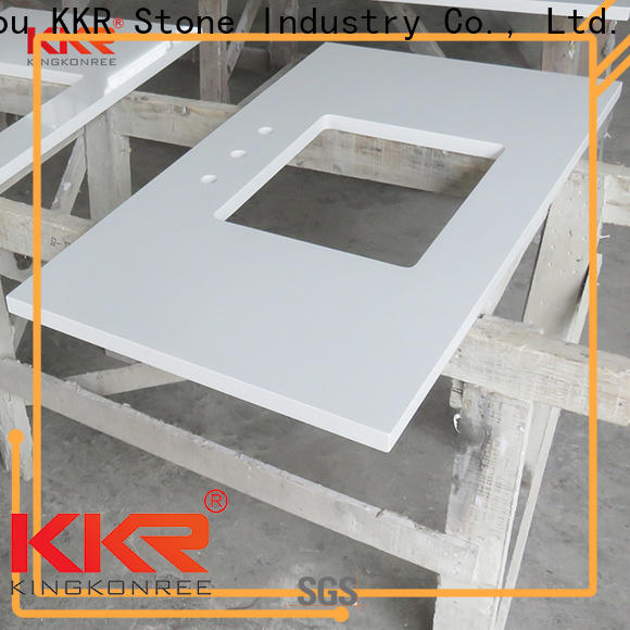 KKR Stone pattern bathroom countertops popular for early education
