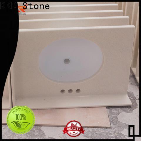 KKR Stone surfce bathroom vanity tops supply for kitchen tops